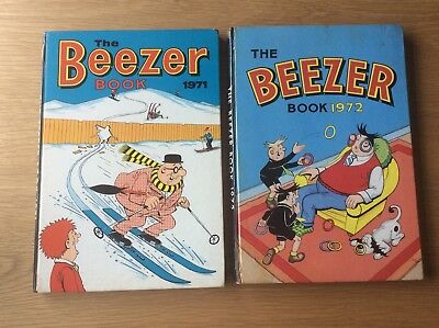 The Beezer Annuals 1971 And 1972