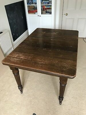 Antique Mahogany Wind-Out Dining Table