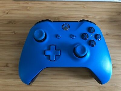 Official Xbox One Wireless Controller 3.5mm - Blue (LT Trigger loose)