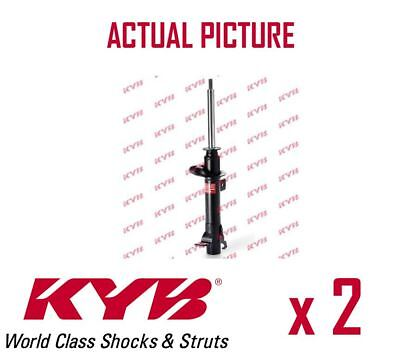 2 x NEW KYB FRONT AXLE SHOCK ABSORBERS PAIR STRUTS SHOCKERS OE QUALITY 333400