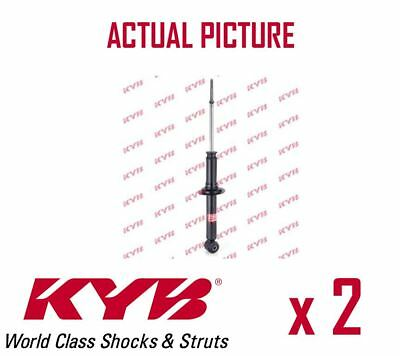 2 x NEW KYB REAR AXLE SHOCK ABSORBERS PAIR STRUTS SHOCKERS OE QUALITY 341217
