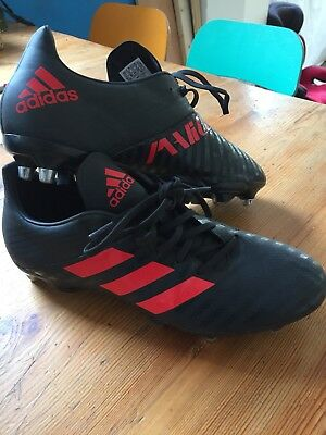 ADIDAS  MALICE  Rugby BOOTS   MENS  U.K.  SIZE  10