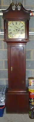 Antique Longcase Clock for Refurb. C Maisey Highworth.