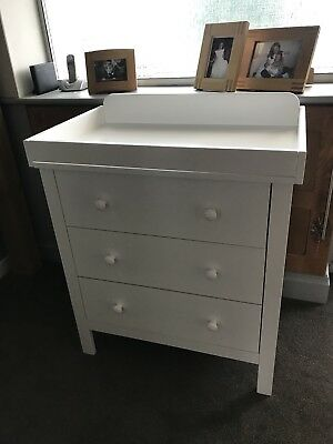 John Lewis Alex Dresser Baby Changer  Changing Table New