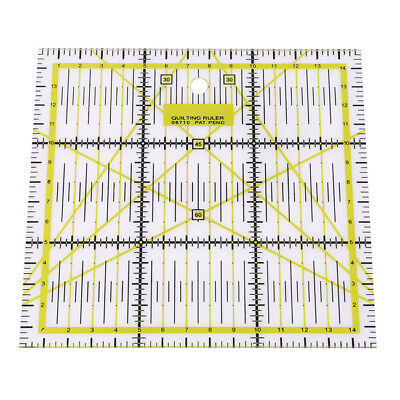 Acrylic Quilting Quilter's Ruler Combo LH