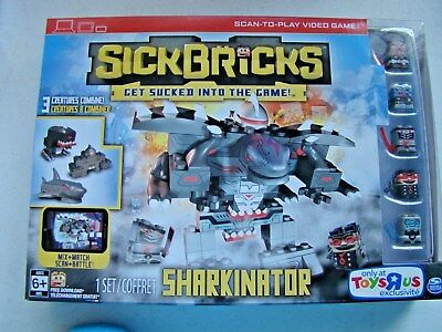 Sick Bricks Sharkinator Playset Toys R us Exclusive New and Factory Sealed