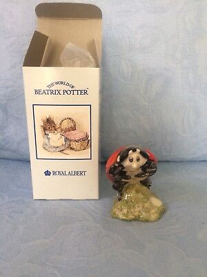 Royal Albert Beatrix Potter Figurine Mother Ladybird (boxed)