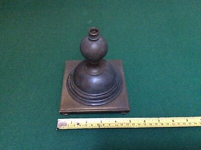 Old Brass Light Base, Lighting, Art And Crafts , W.a.s Benson Style,
