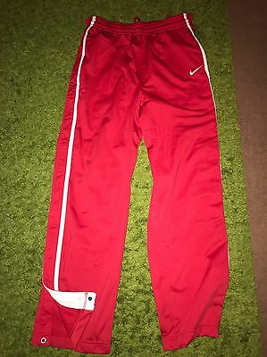 Nike Basketball Pants Size S Red