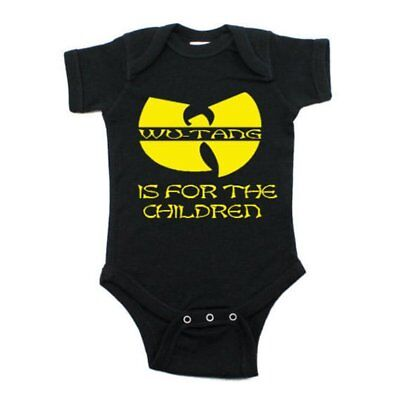 Baby bodysuit WU-TANG CLAN IS For The Children One Piece jersey t-shirt tee kids