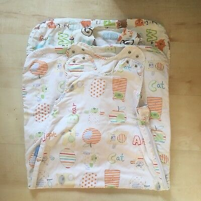 Grobag sleeping bags bundle - 1.0 tog - 6-18 months x 2 - Excellent Condition
