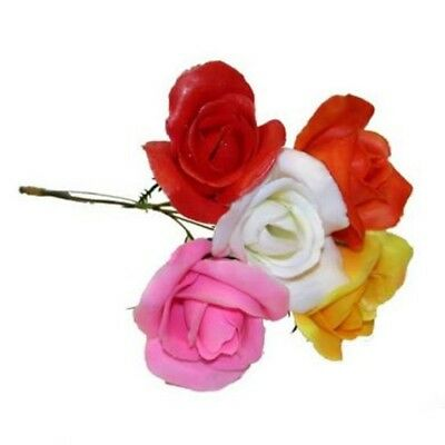 Roses assorted Artificial Flowers For Use In Christmas Wreaths x 100 Stems