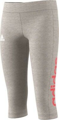 ADIDAS Kinder Essentials Linear 3/4 Tight Sporthose Clima Training CF7264