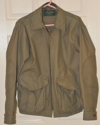 Filson cotton casual jacket size small fits as medium Made in USA bell bomber