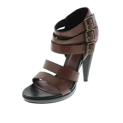 43e810961f84 Diesel Black Gold 7098 Womens Navajo Girl Pocah Brown Strappy Sandals 7