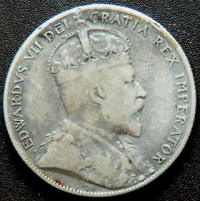 Canada Newfoundland 1904 Edward Vll Fifty Cents   #110154