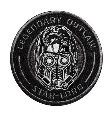 Marvel Comics Legendary Outlaw Embroidered Iron On Patch - Star Lord 153-S