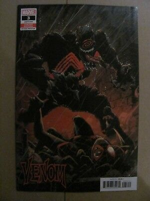 Venom #3 Marvel 2018 Series 2nd Print Variant 1st app Knull Symbiote God 9.6 NM+