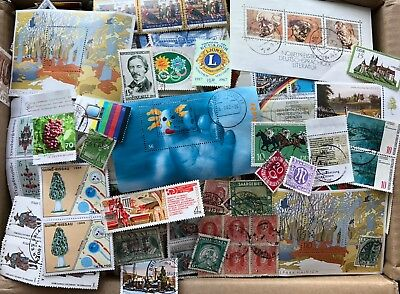Alle Welt Kiloware Papierfrei 1,7 Kg International Stamps Without Paper !!!
