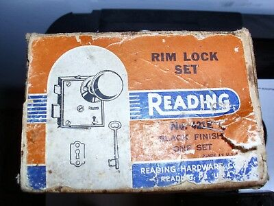 Reading Rim Lock Set in original box