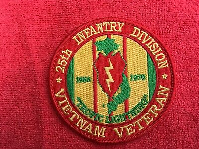 Us Army 25Th Infantry Division Vietnam Veteran Patch