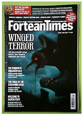 Fortean Times May 2017, #353: evil crows, Russian weaponised giant squid & more!