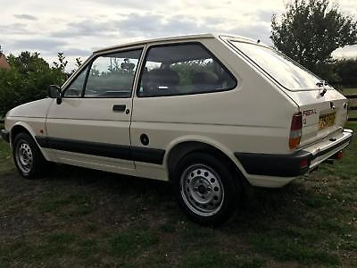 Ford fiesta mk2 classic 41k miles from new!! garaged all its life 1989