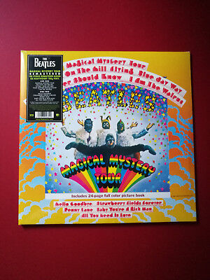 The Beatles Magical Mystery Tour 180g STILL SEALED 2012 OFFICIAL REMASTER - MINT