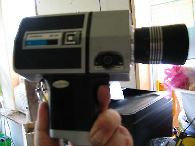 Super 8 Hanimex Loadmatic MP-303 Hanimar Lens 1969 Hi End Camera Nice Shape