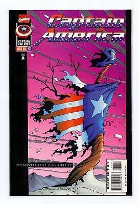 Marvel Comics: Captain America #451/#452/#453/#454 - Final Four Issues!
