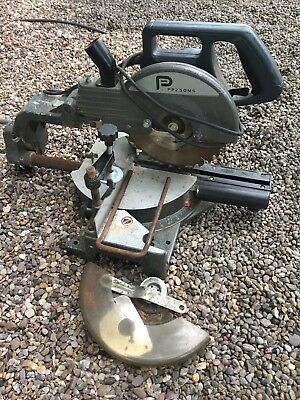 Performance power tools radial arm mitre saw 1800w, Used