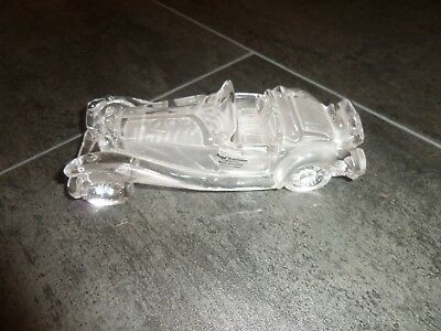 HOFBAUER extremely RARE  Lead crystal car model