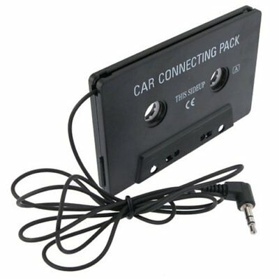 Car Audio Cassette Deck Player Tape Adapter 3.5mm Aux Cable Cord MP3 Phone iPod