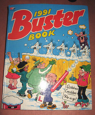 Buster 1991 Book Annual  Fleetway Comic