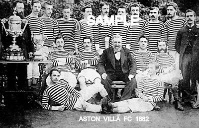 Aston Villa FC 1882 Team Photo