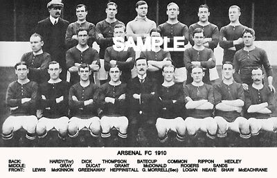 Arsenal FC 1910 Team Photo