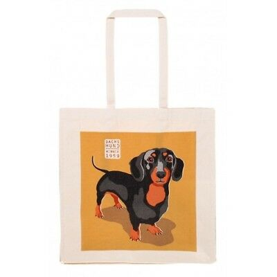 Dachshund Sausage Dog Weiner Dog Cotton Shopping Bag Ralf Ulster Weavers BNWT