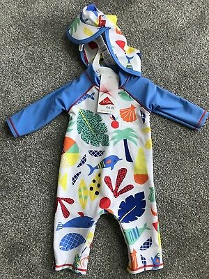 0-3 Months Baby Boys Swimwear Suit/ Costume From M&S