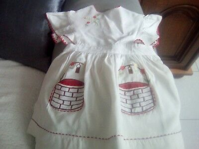 robe enfant ancienne taille 6mois/1 an