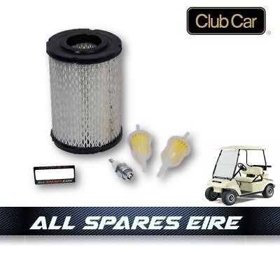 CLUB CAR DS GOLF CART BUGGY SERVICE KIT w AIR & FUEL FILTERS PLUG 1984 TO 1991
