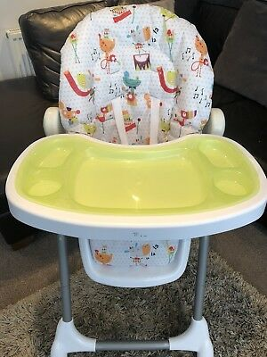 Mamas and Papas Adjustable Height Highchair. Used at Grandparents.