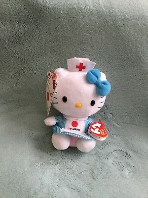 Ty Hello Kitty I Love Japan Plush ...new With Tags
