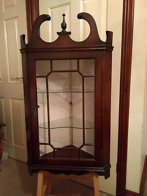 Wall Hanging  Corner Cupboard  Display Cabinet