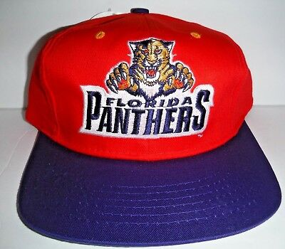new concept a043f 65c2a Florida Panthers Kids Youth Boys Size NWT NHL Vintage Snapback Hat Cap Logo  7