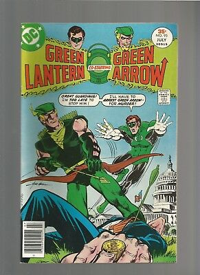 GREEN LANTERN #95  VF Green Arrow, Mike Grell  DC Comics 1977 COMBINE SHIPPING