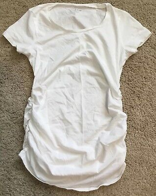 A Pea In The Pod Maturnity White T-shirt XS