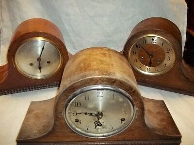 job lot of vintage napoleon hat clocks inc Westminster chime clock