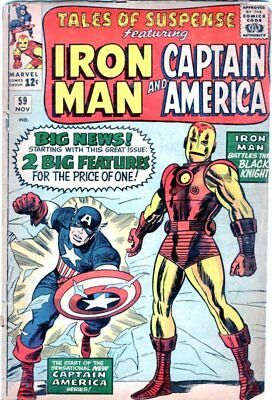 Tales of Suspense #59....First Solo Captain America since 1950's