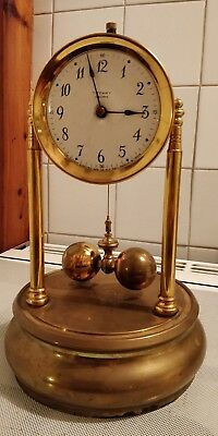 Early large Tiffany Never Wind Electric Clock