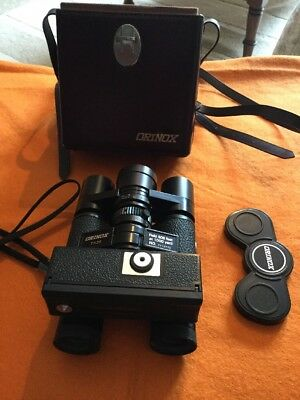 VERY RARE Orinox 7x20 Binoculars +110 Film Camera, Made in Japan